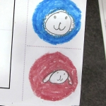 Character tokens, kindergarten