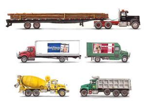 trucks watercolor